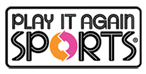 Play it again sports logo and link